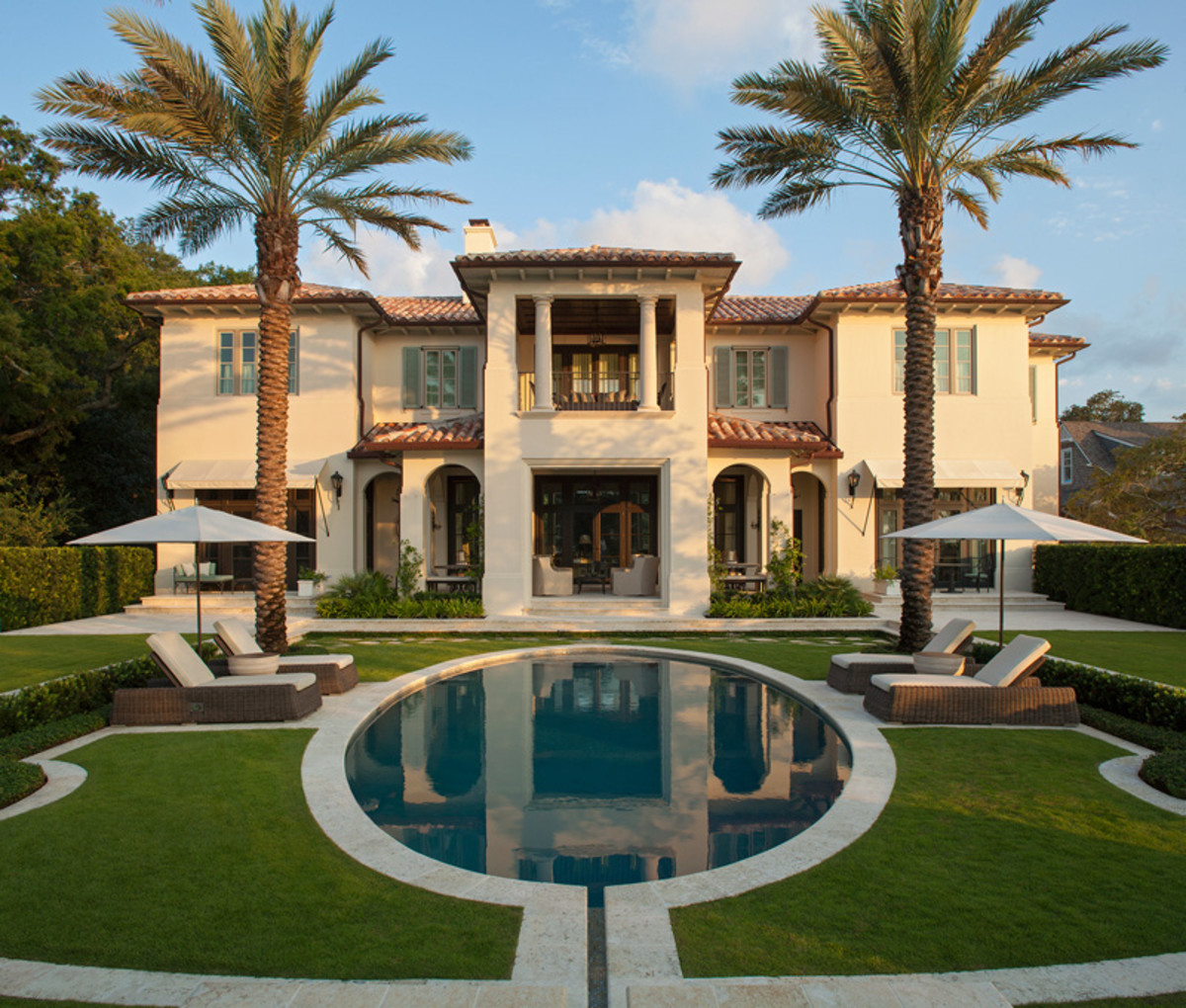 Elevation Mediterranean Architecture Style House Plans: 2016 Palladio Awards: New Mediterranean-Style Traditional