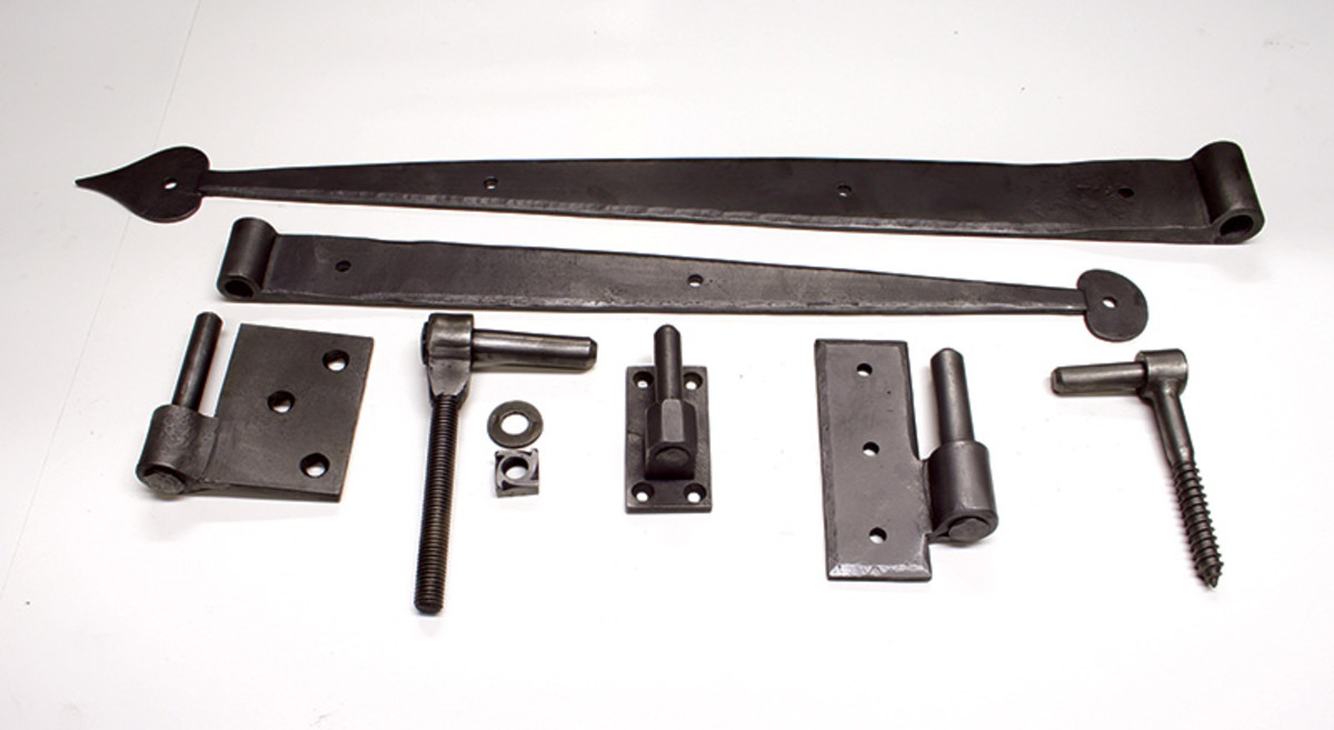 strap hinges historic door hardware