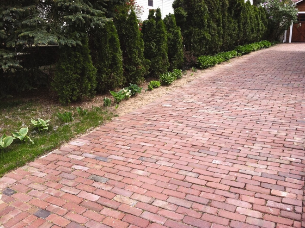 Antique Brick Pavers Tumbled Pavers Drivesett Deco Block Paving Marshalls Brick Paneling Old