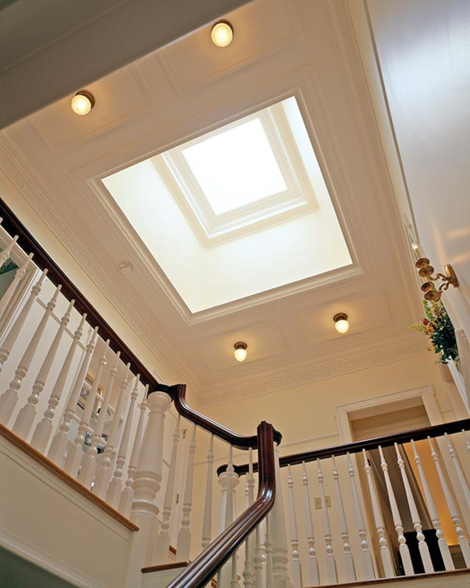 skylight greek revival house