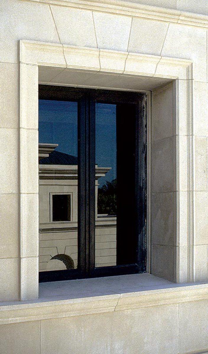 cast-bronze window