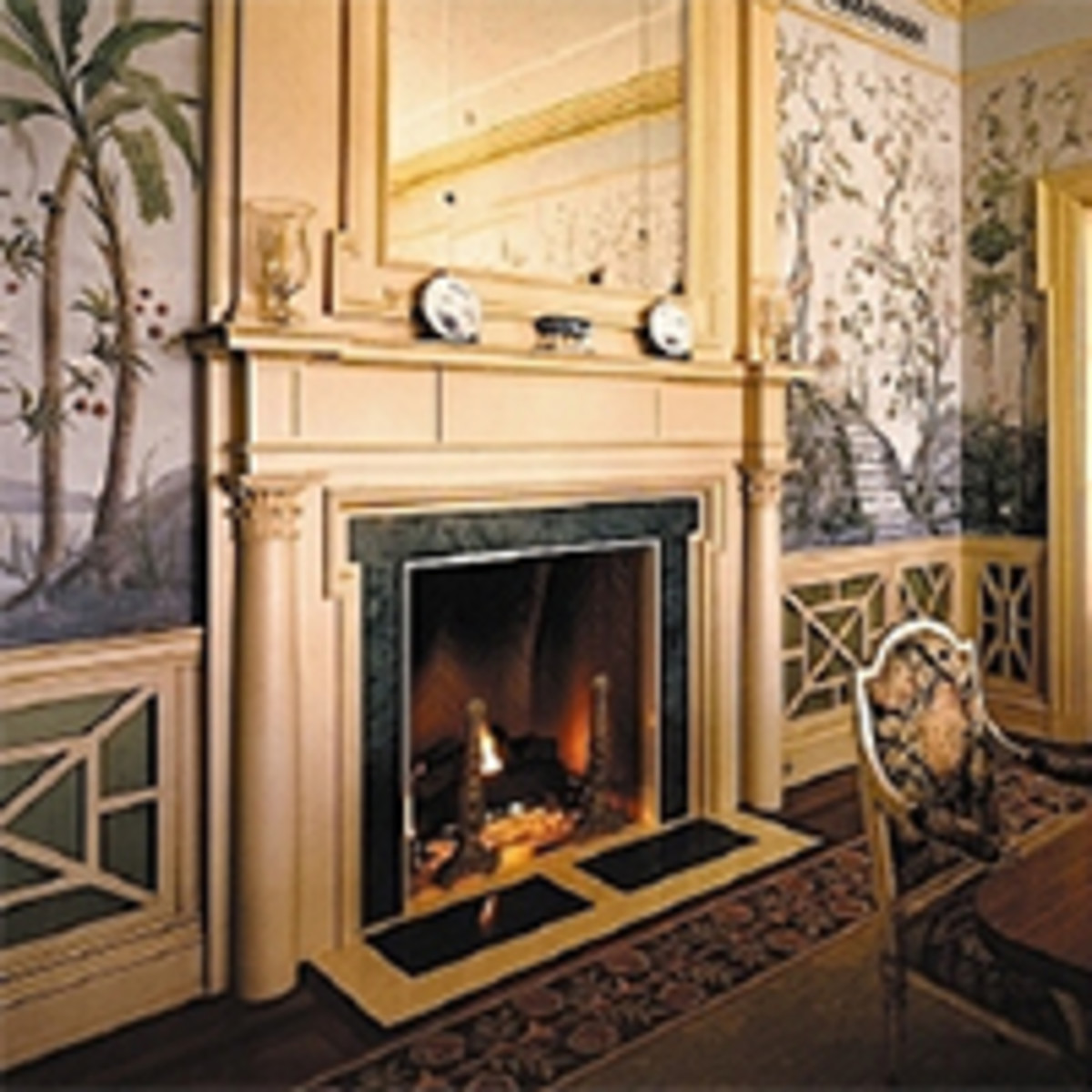 mantels fireplaces chimneys