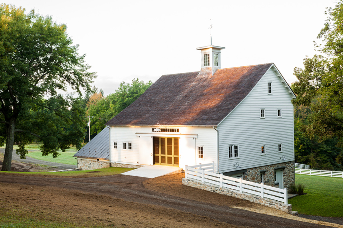 Barn Addition To A 19th Century Farm Period Homes Magazine