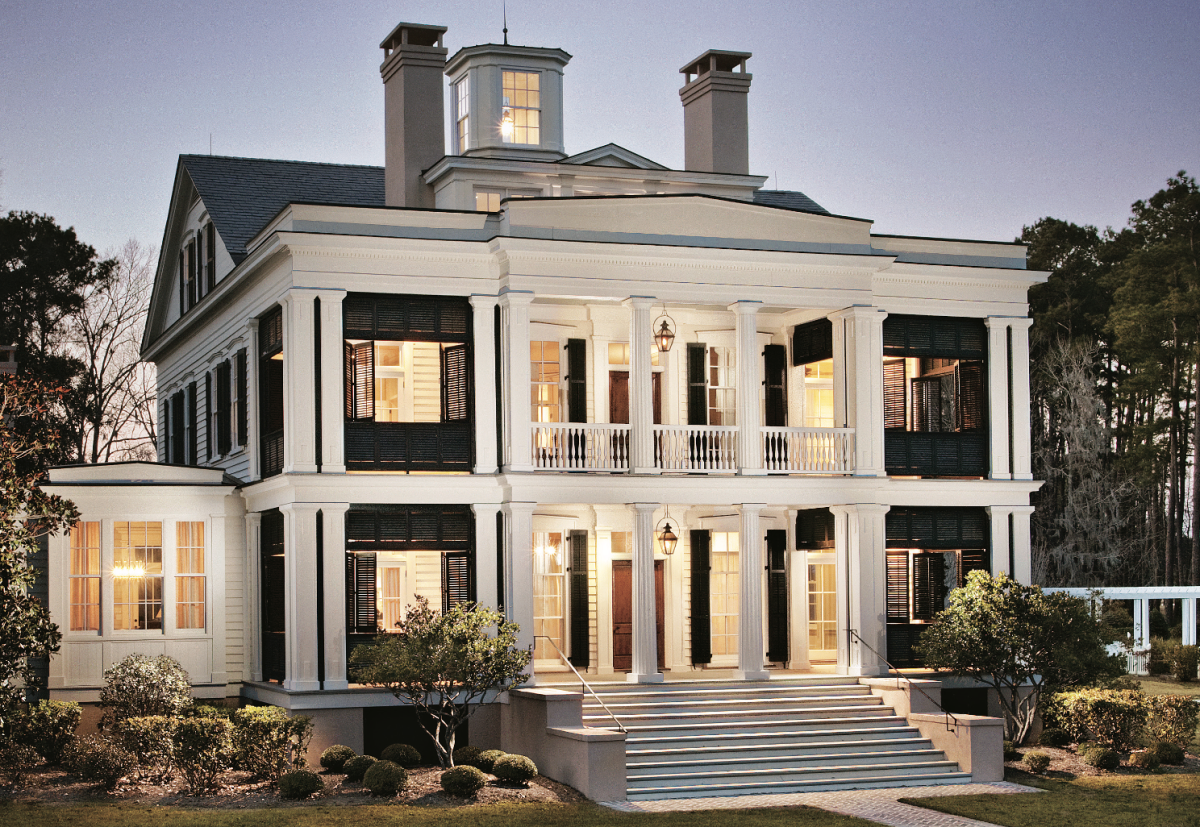a greek revival home with southern charm period homes