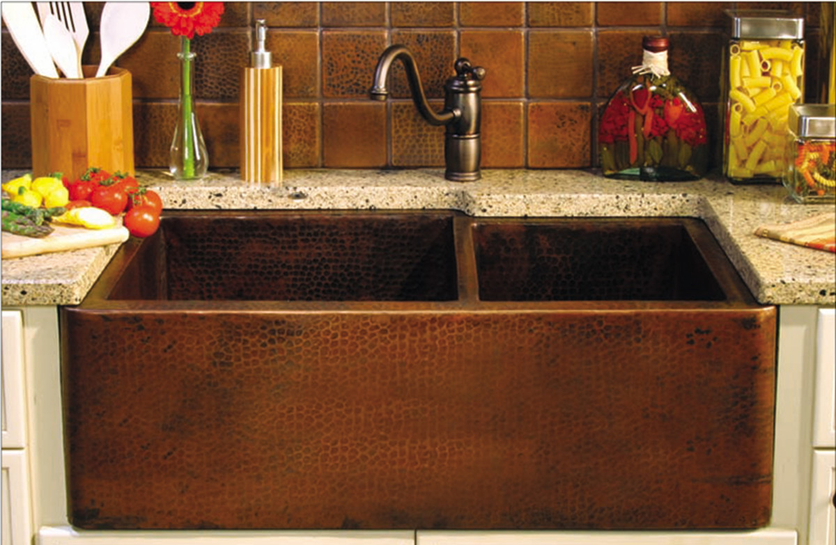 metal sink historic kitchen