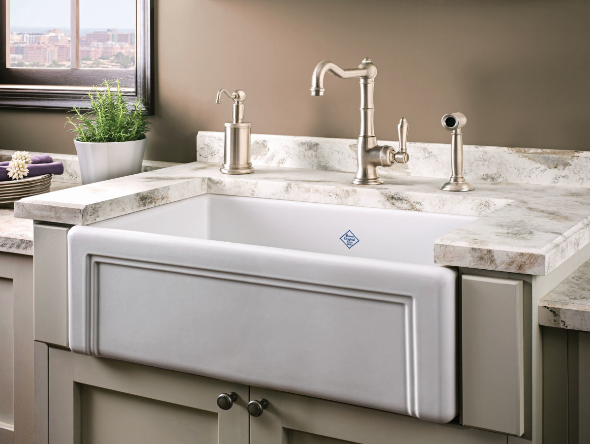 Shaws Egerton Casement Edge Front sink