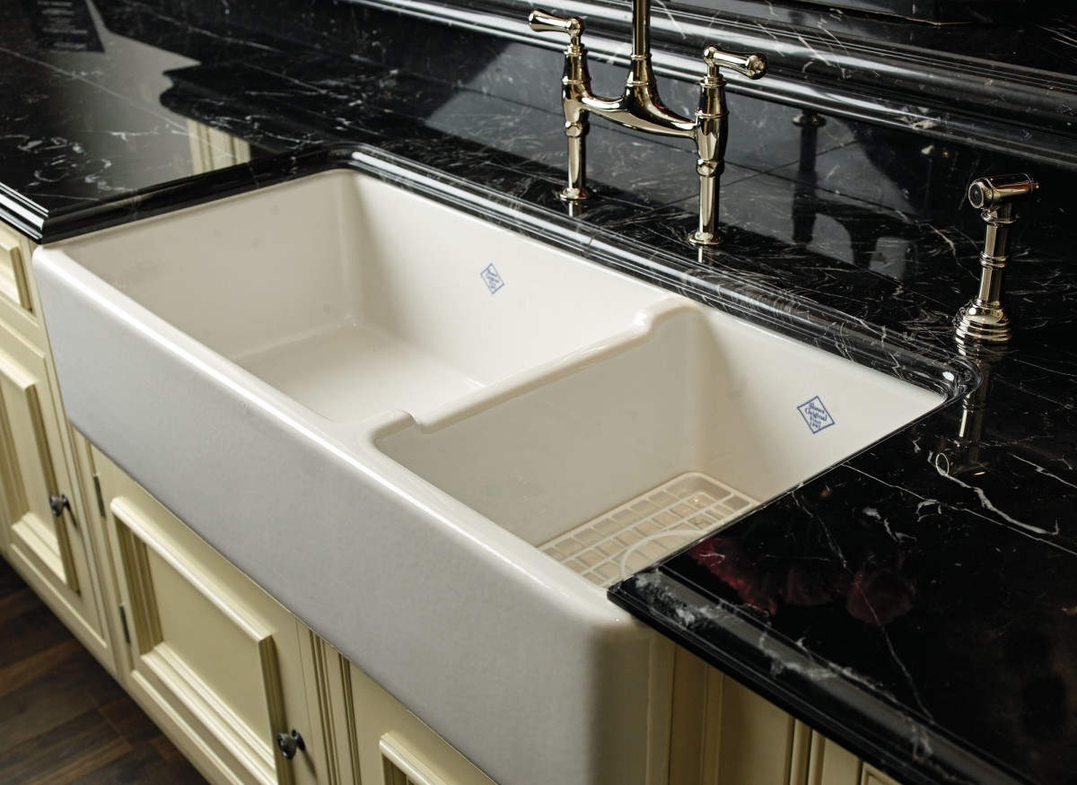 Shaws Rutherford 1-1/2 bowl sink