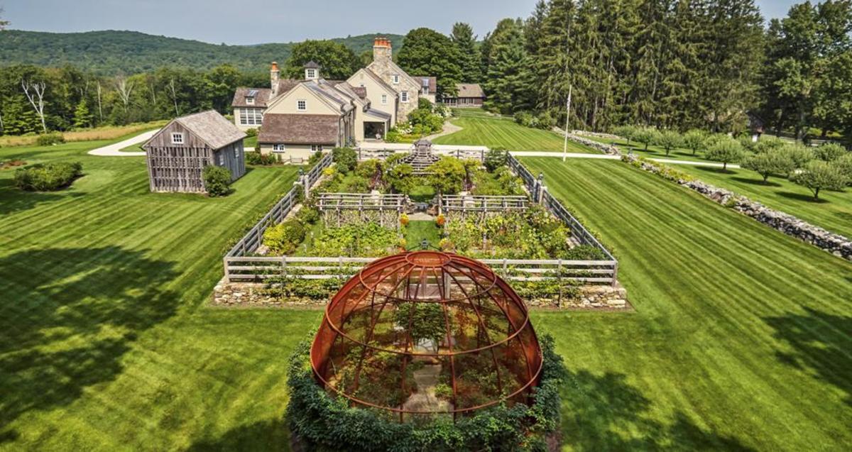 Farmhouse Garden, Haver & Skolnick Architects