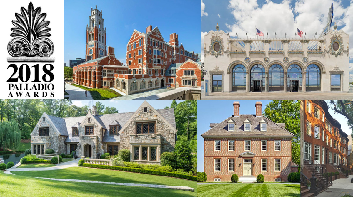 2018 Palladio Award Winners Period Homes
