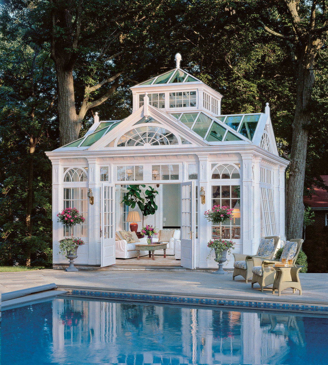 conservatory designed by Tanglewood