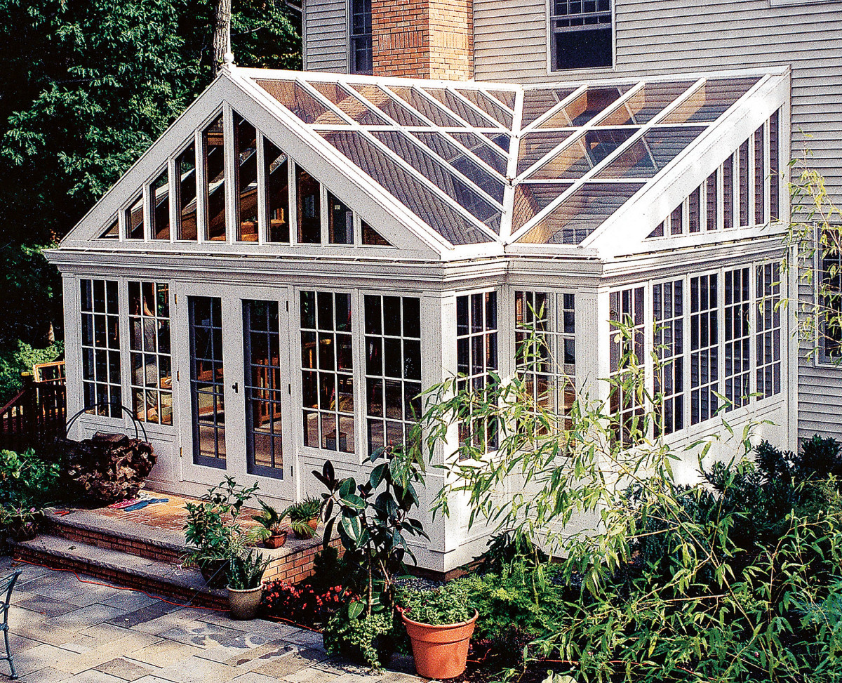 Renaissance Conservatories manufactured conservatory for a client in New Jersey.