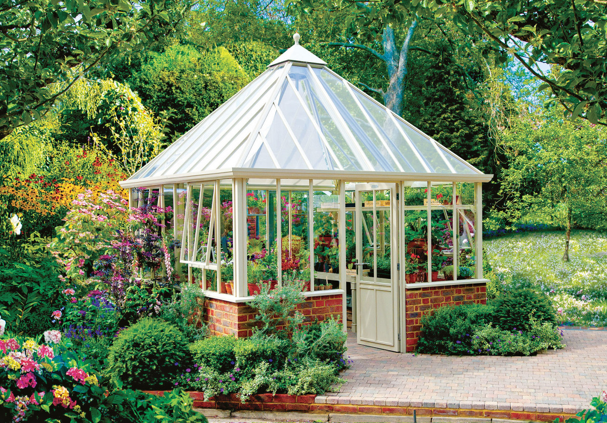 The Grange greenhouse at Hartley Botanic