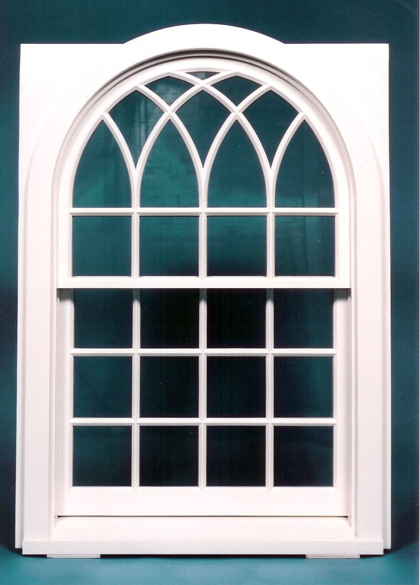Gothic Double Hung Window