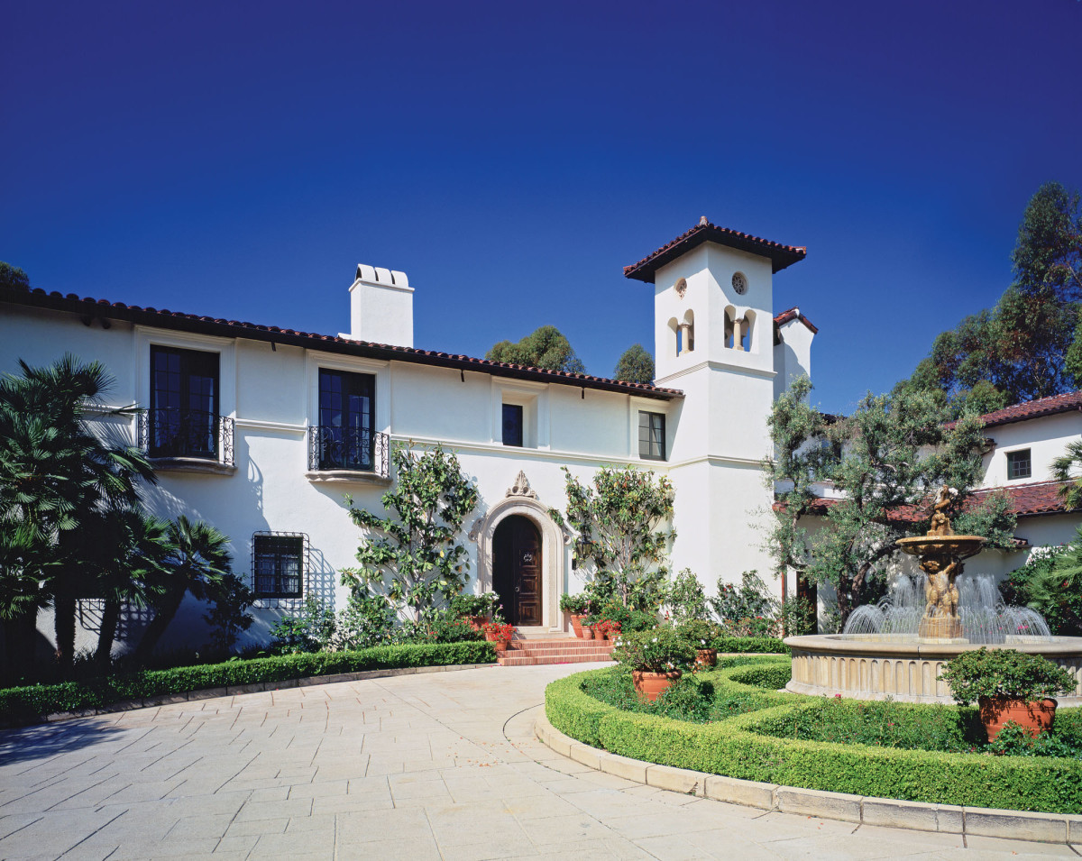 Mediterranean Revival Estate
