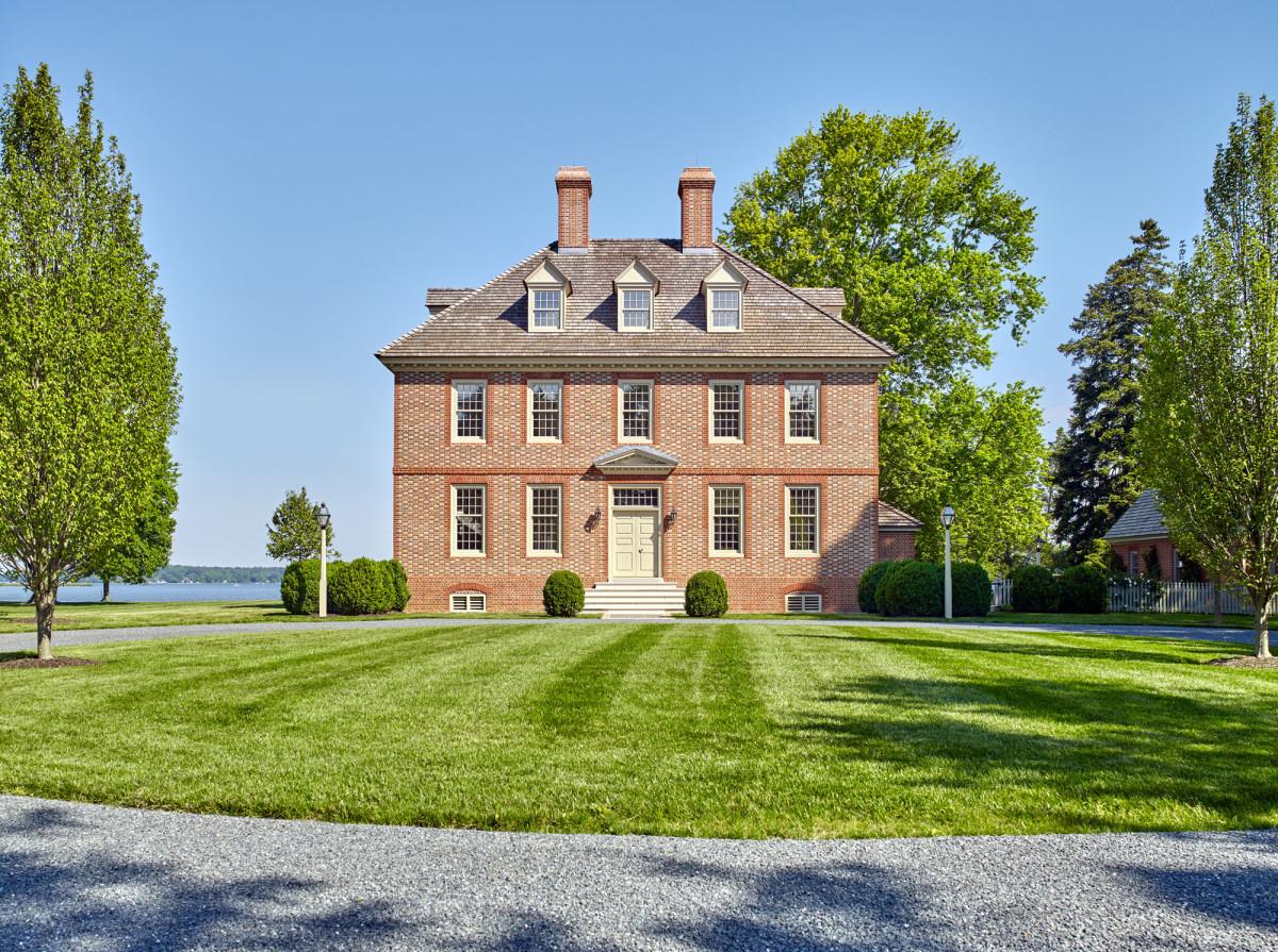 John Milner Architects, 18th-century house