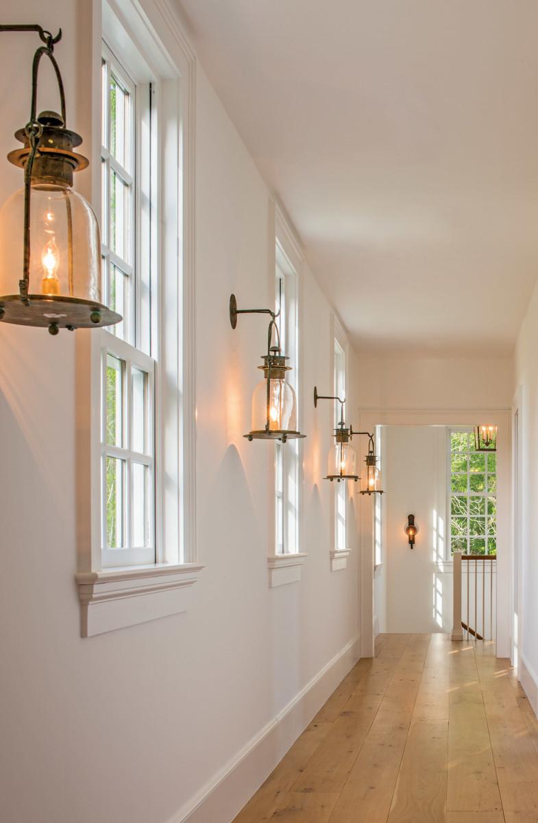 period-style lanterns