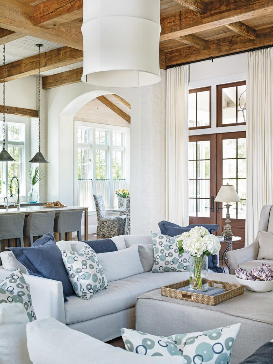 wood ceilings, exposed ceilings