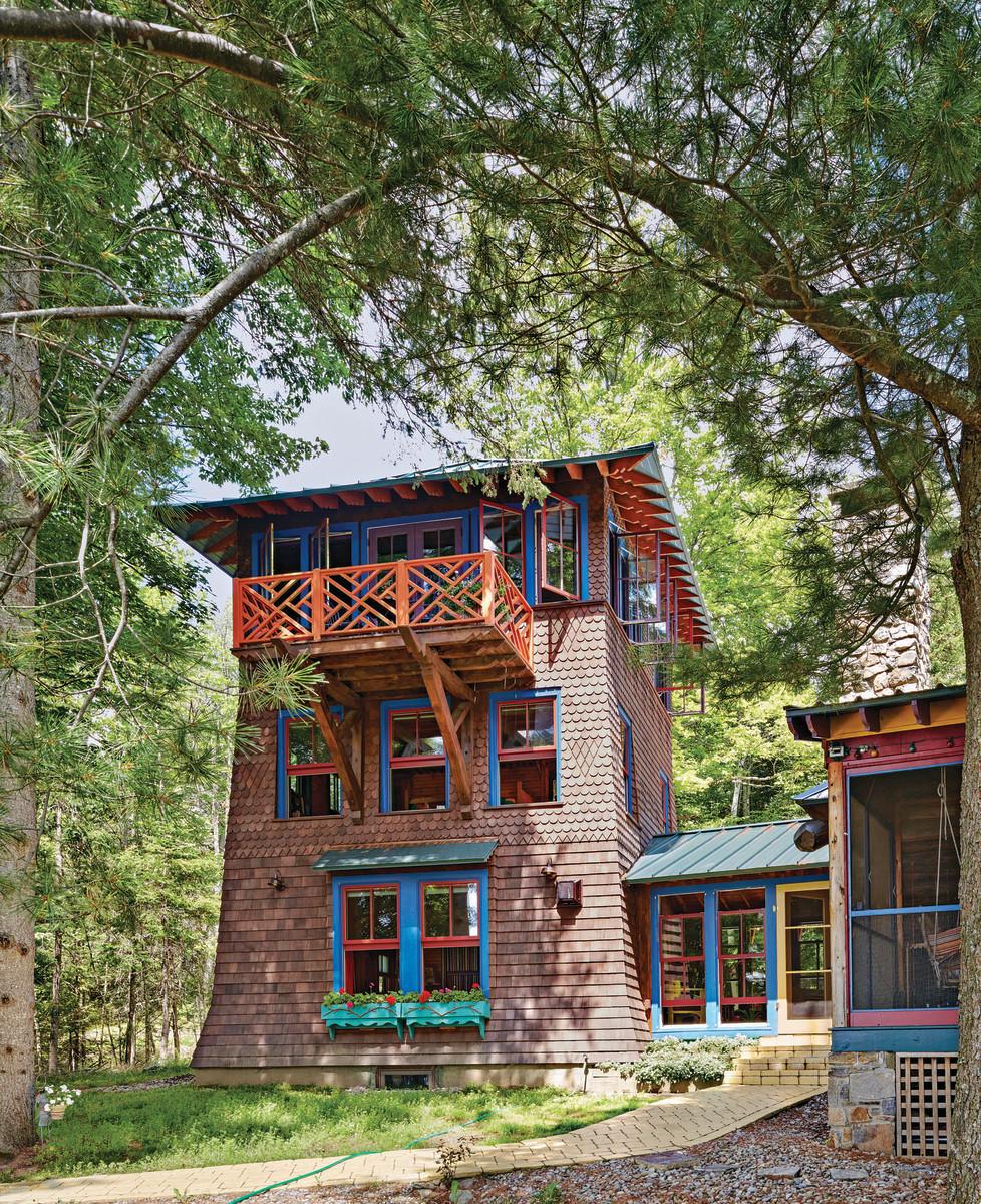 2016 Palladio Awards New Mediterranean Style Traditional: Adirondack Architecture