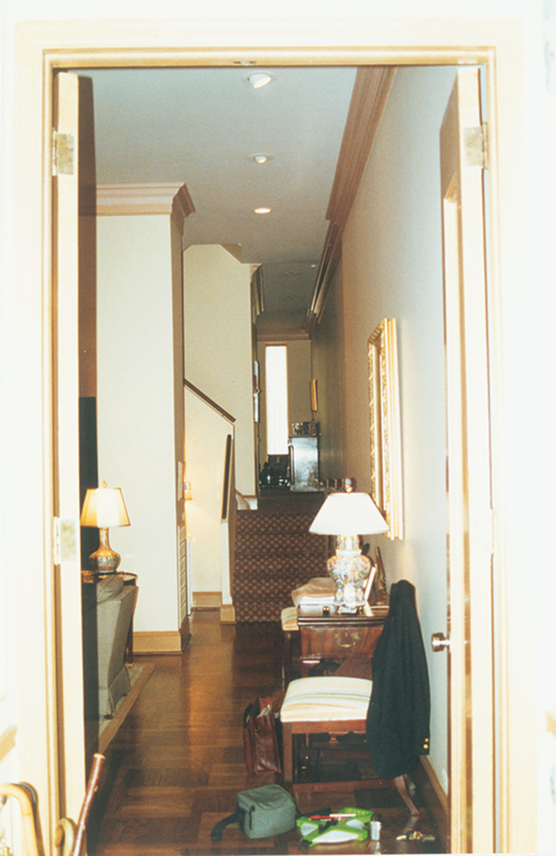 rittenhouse square townhouse before renovation