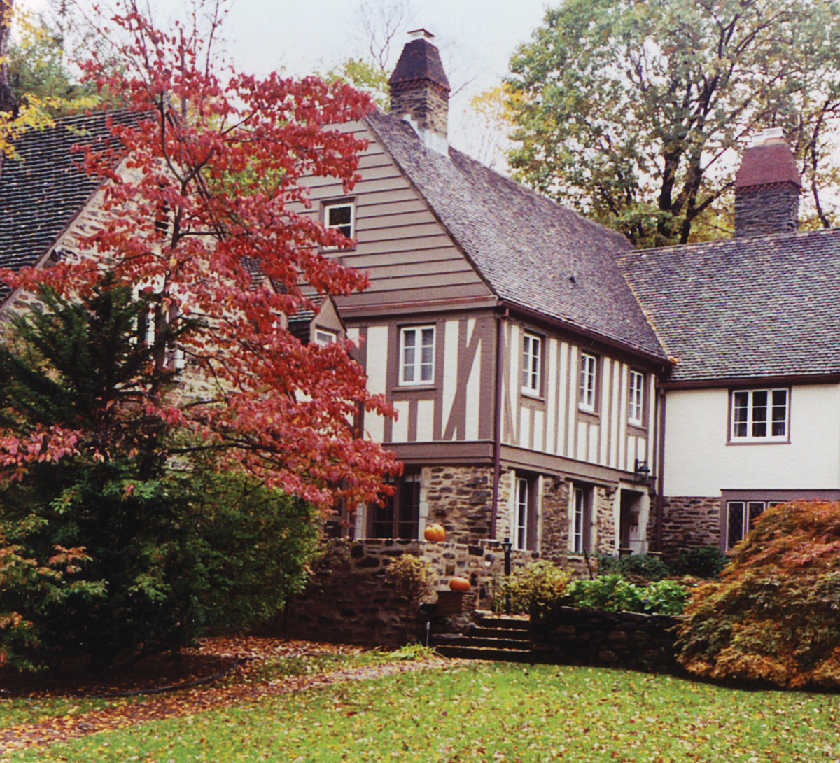 Addition To A 1930s Tudor Revival House Period Homes