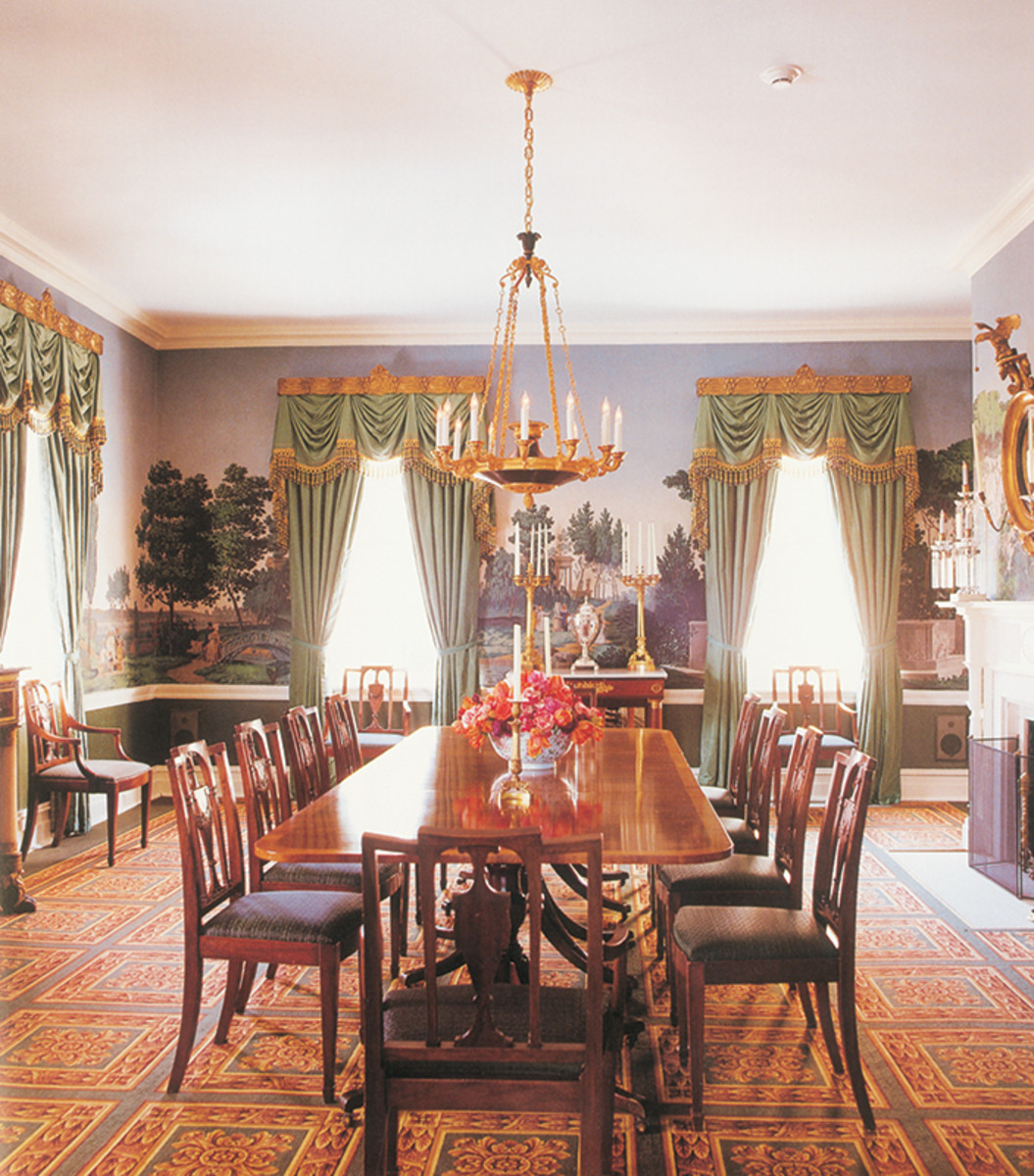 gracie mansion dining room