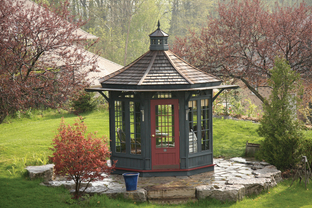 The Many Sides Of Period Gazebos Period Homes