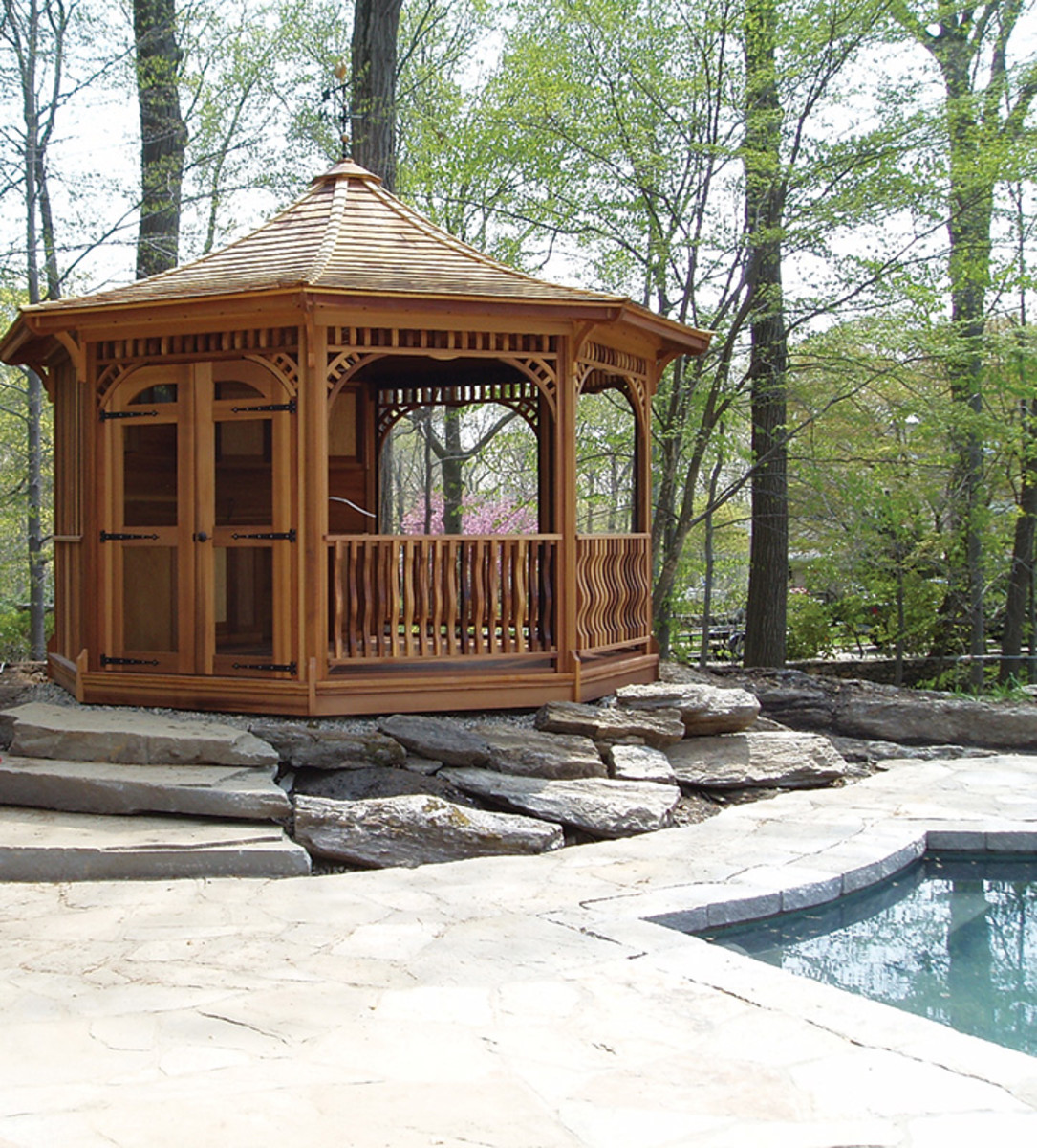 The Many Sides of Period Gazebos - Classic Homes Design and ...