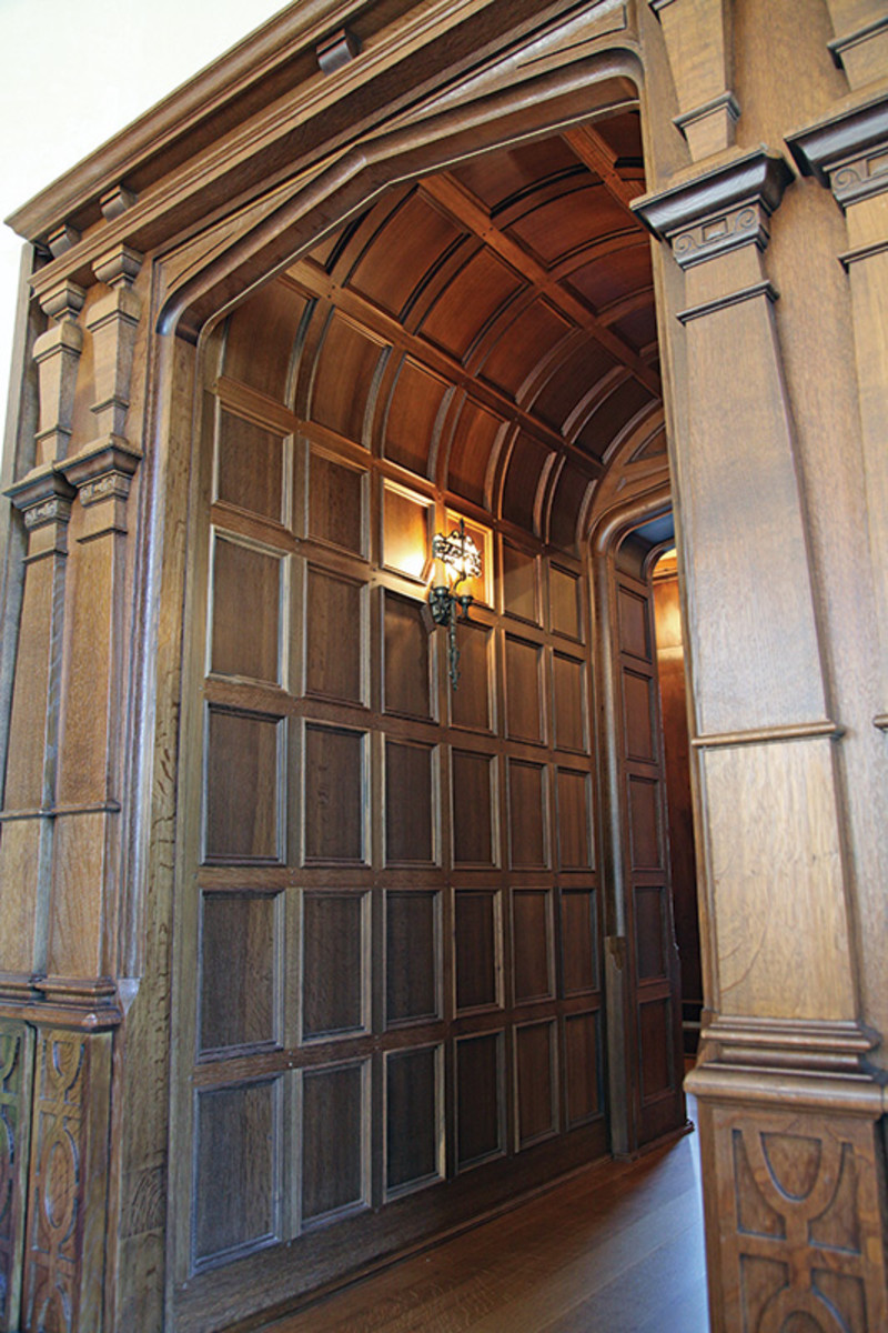 Interior Wood Paneling: Woodwork: Creating A Tudor Interior
