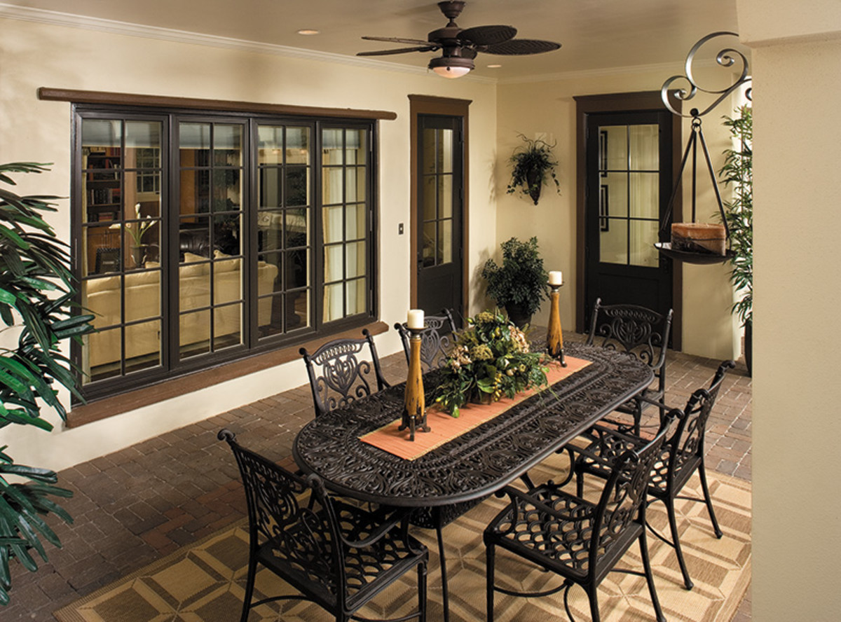 Pella's Architect Series casements and custom patio doors