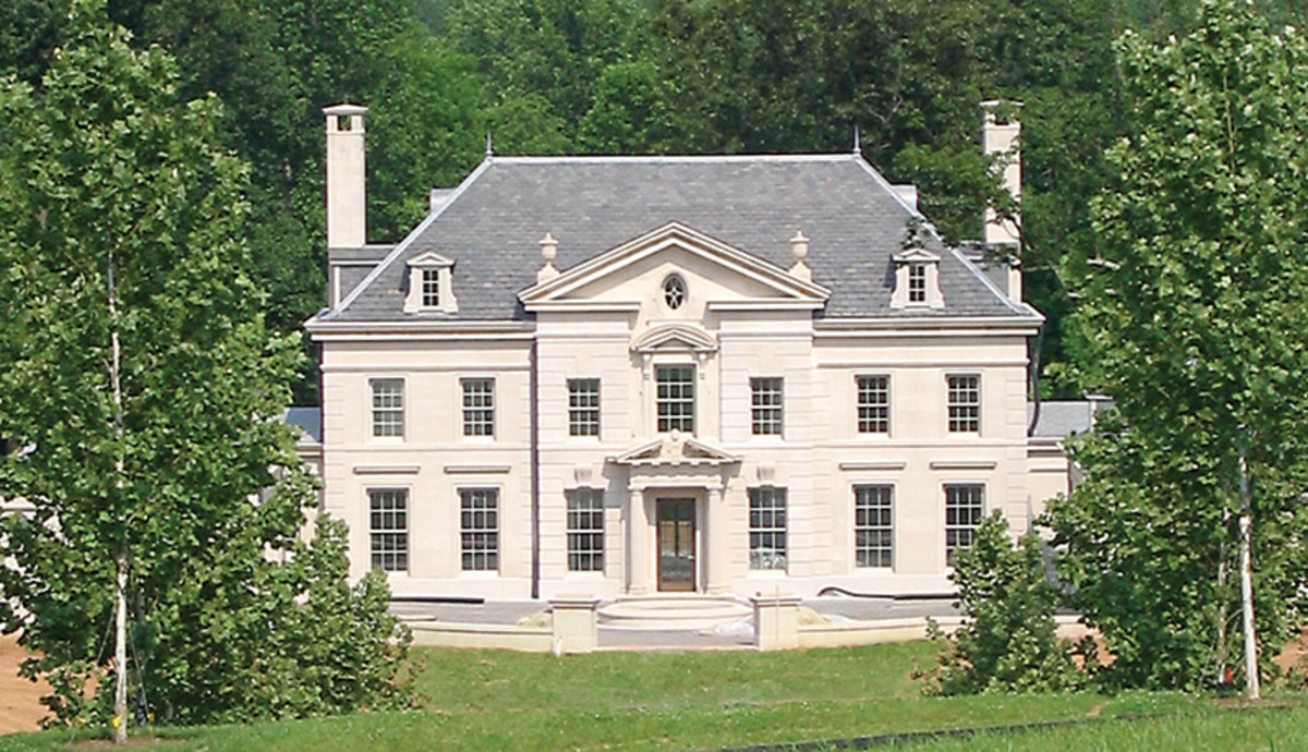 Wayside Manor American Neoclassicism Period Homes