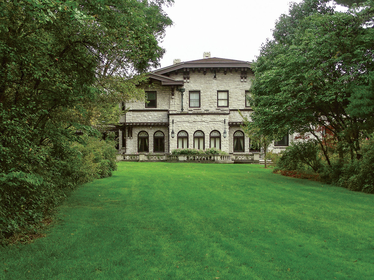 Built on over 1,400 acres of farmland in Dearborn, Michigan, Fair Lane was the Fords' home for more than 30 years and is just miles from the Ford Motor Co. empire.