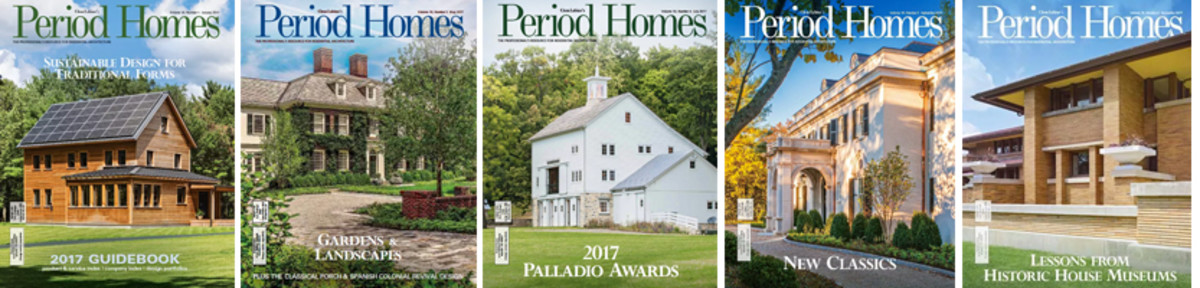 Period Homes covers 2017