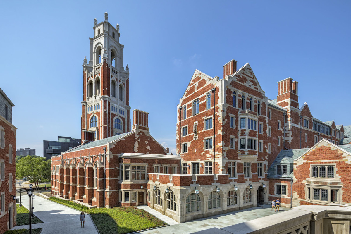 """Benjamin Franklin College and Pauli Murray College, Yale University"", Robert A.M. Stern Architects, Bulfinch Award"