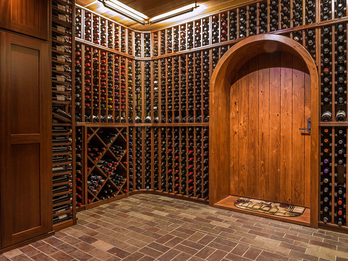 custom wine rack, period home wine cellar design, period home wine cellar designs