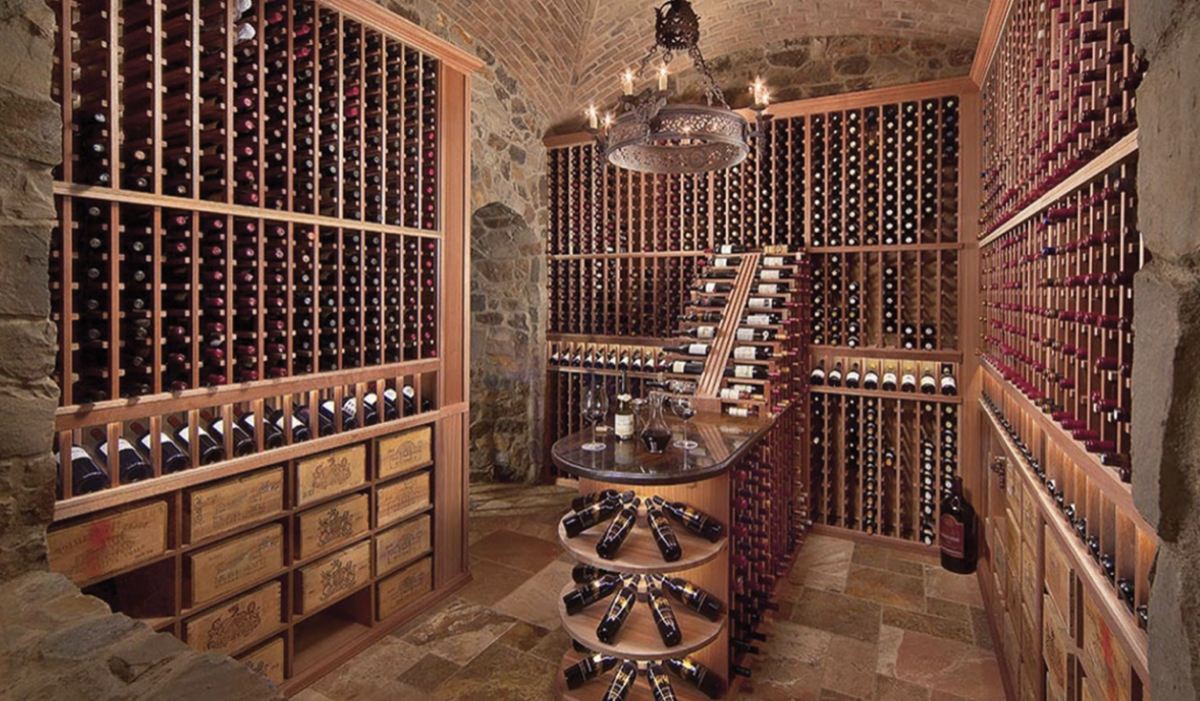 Wine Rack's Ultra Premium Series racking component system