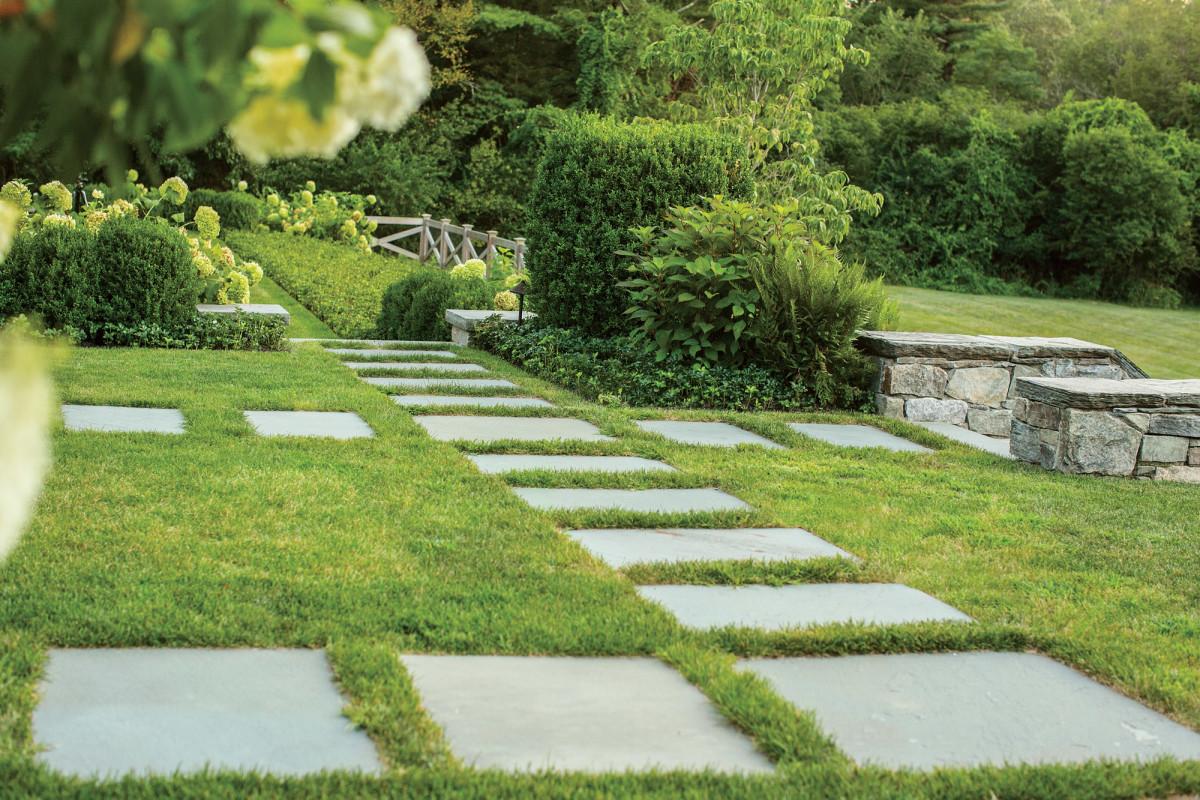 geometric gardening, Dan Gordon Landscape Architects