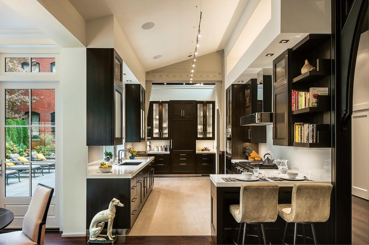 kitchen in Gothic Revival
