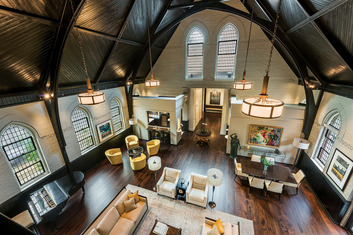 Gothic Revival Chapel residence