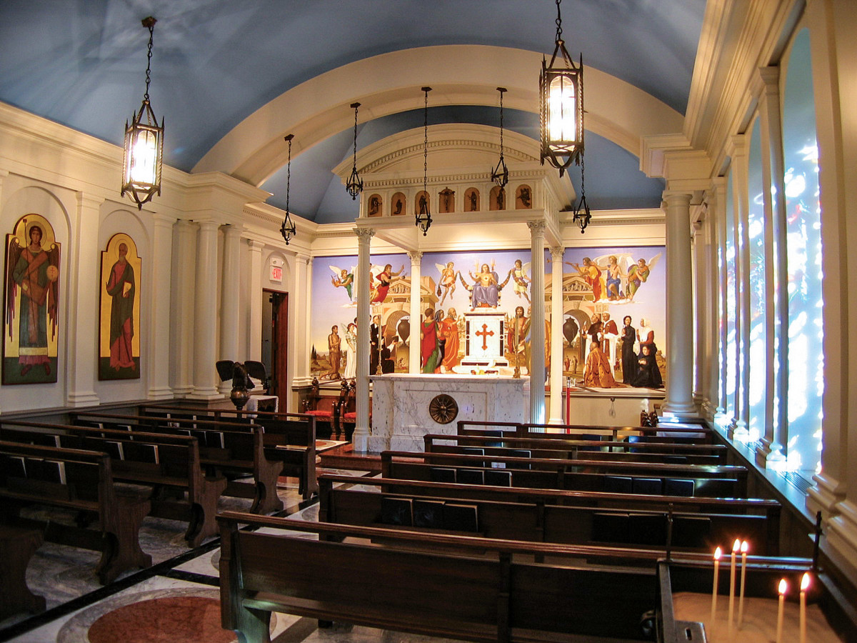 The Chapel of the Sacred Heart of Jesus