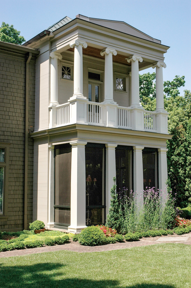 Architectural Wood columns, piers, and pilasters