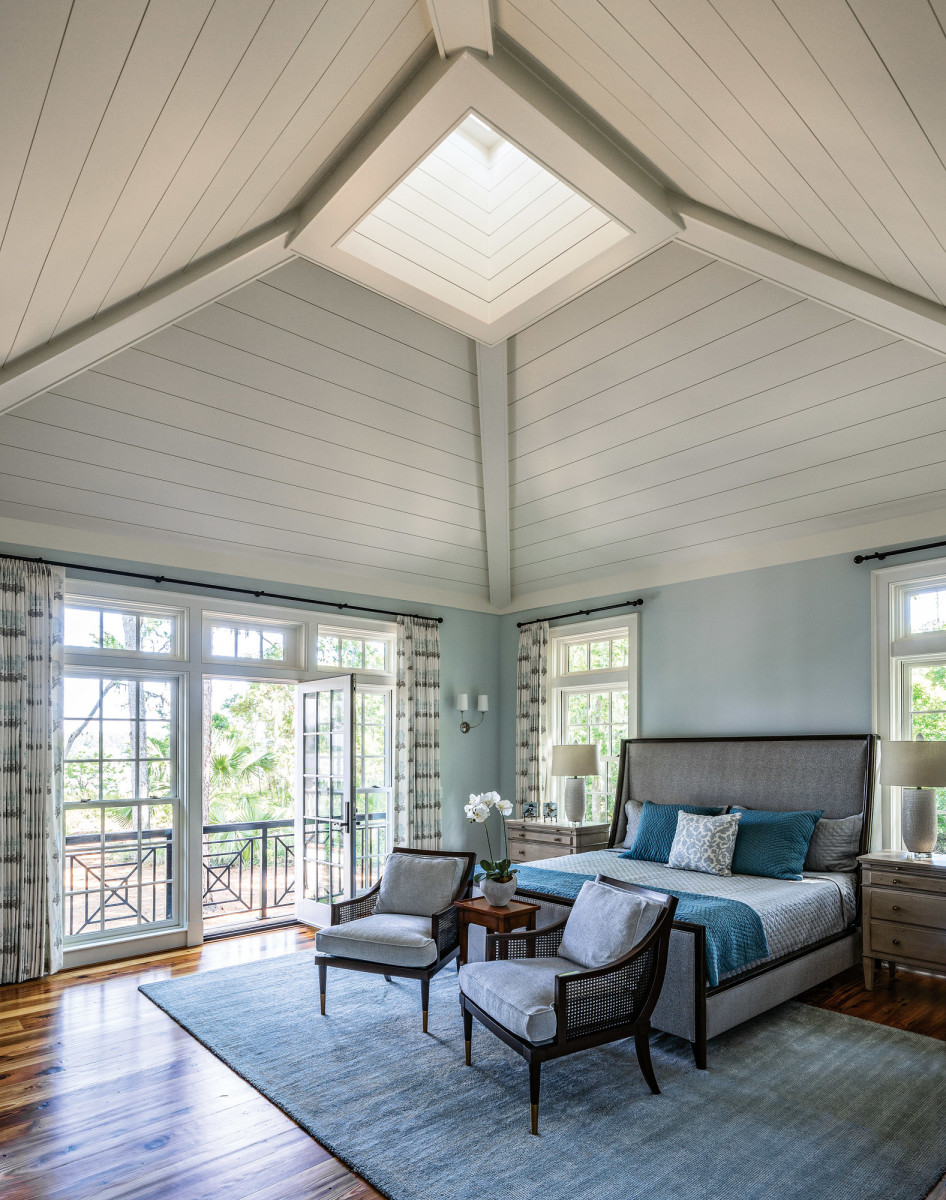 cupola, lowcountry master bedroom