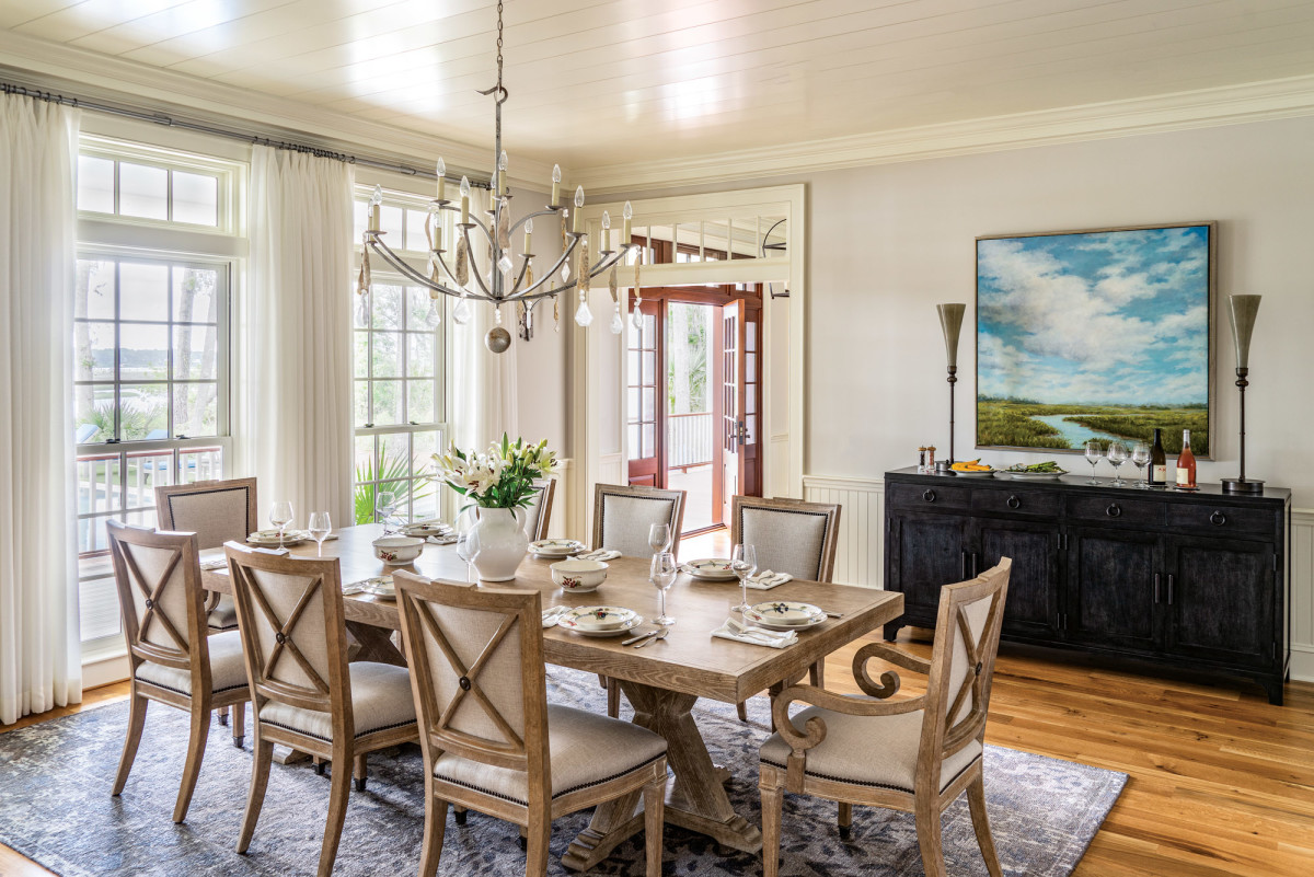 Lowcountry dining room, Susan Rochelle
