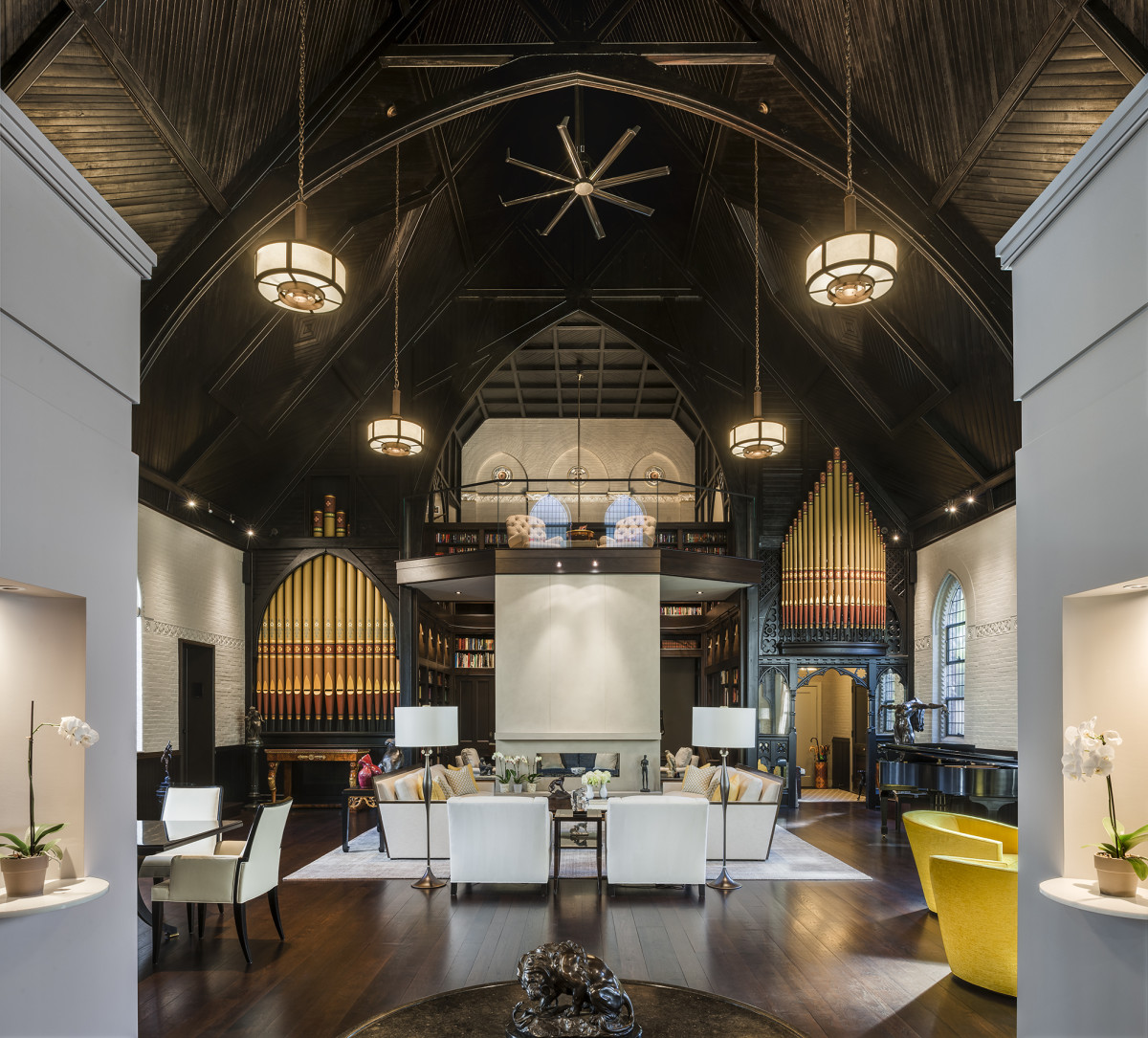 Gothic Revival Chapel Residence, John Milner Architects, Palladio Award