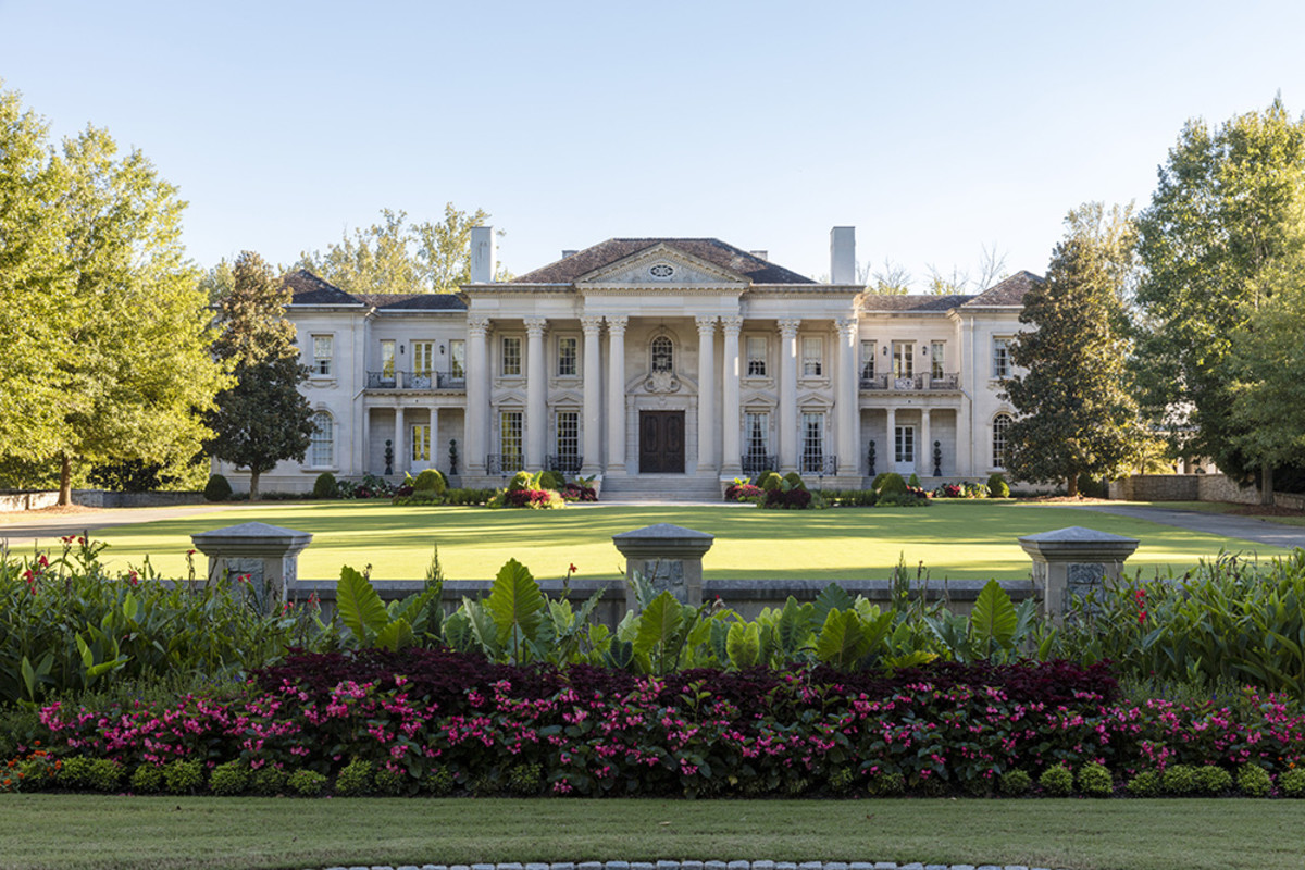 Beaux Arts Home, Harrison Design, Palladio Award