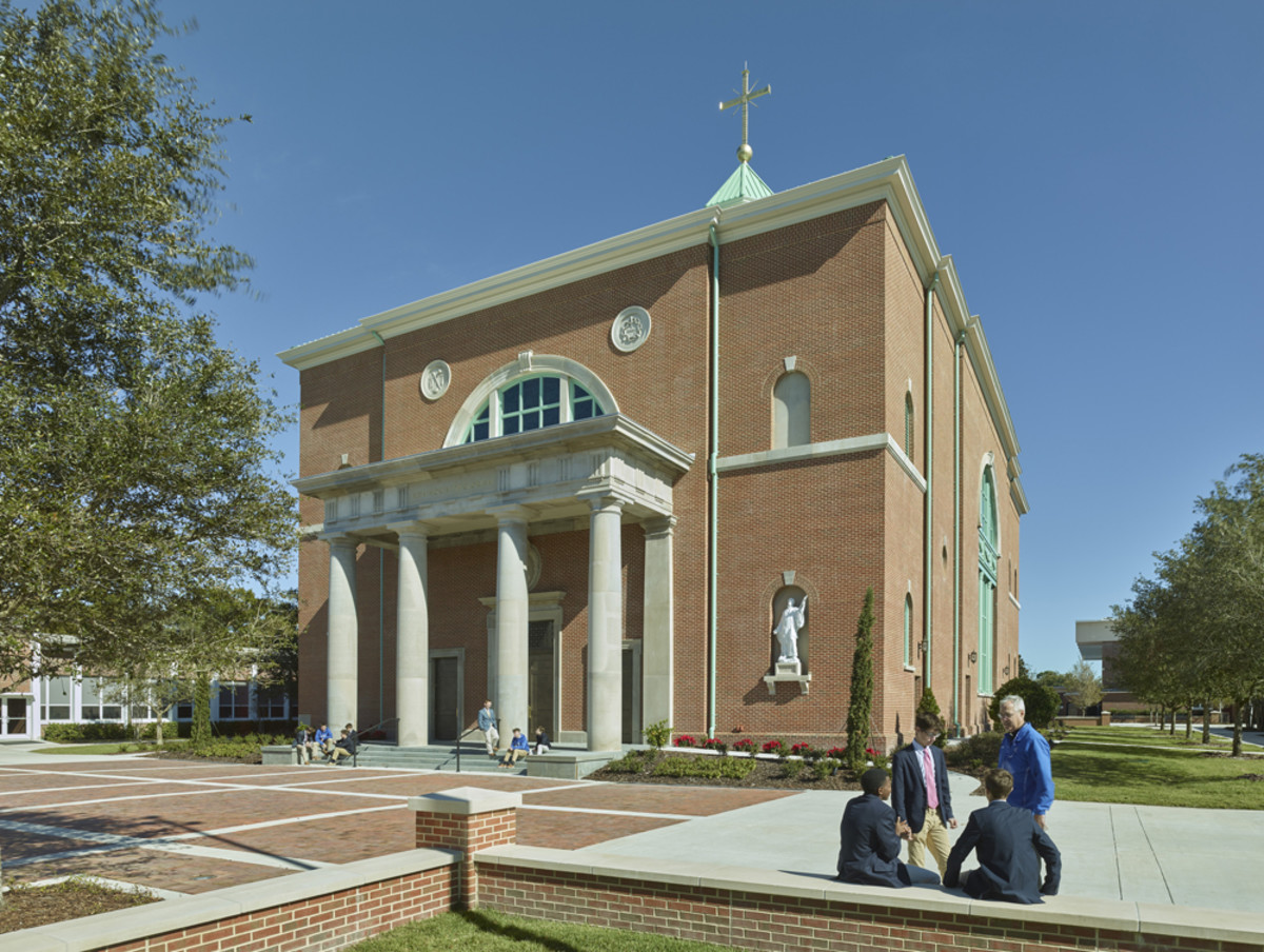 Chapel of the Holy Cross, Duncan G. Stroik, Palladio Award