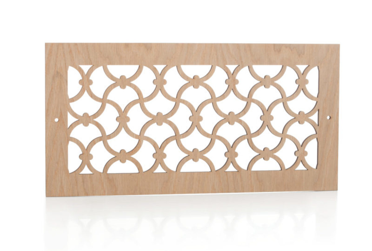 Laser Cut Wood Register from Pacific Register Co.