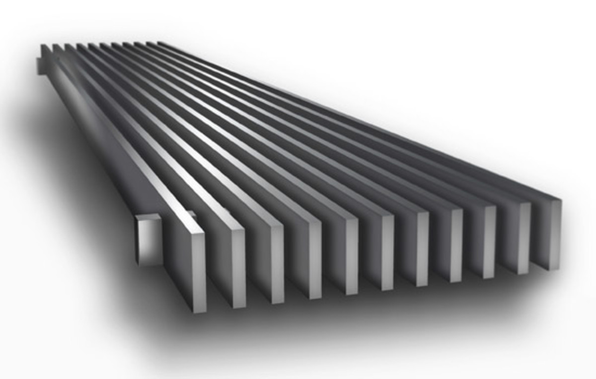 CA100 Linear Bar Grilles from CoCo Architectural Grilles & Metalcraft