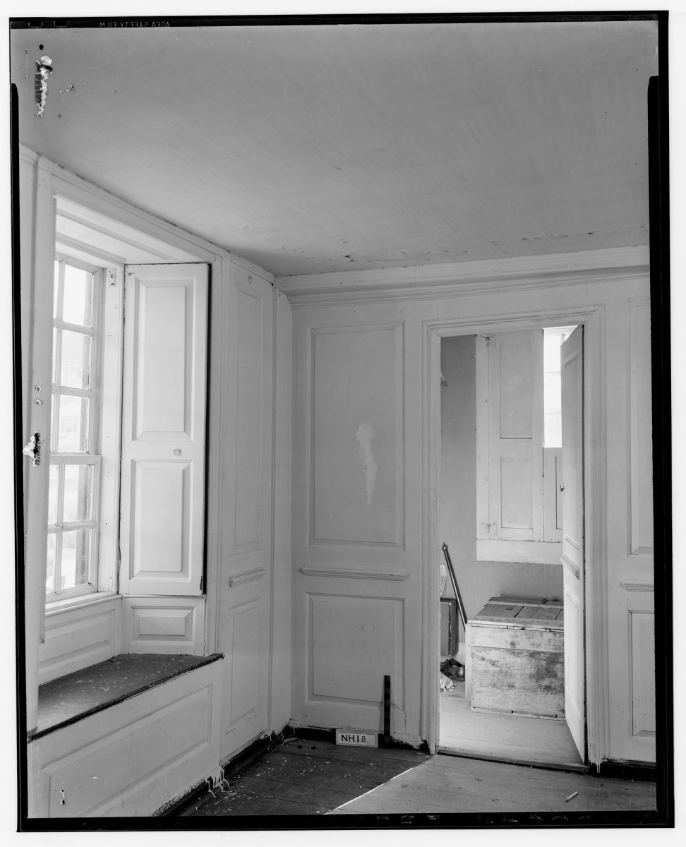 This photo shows the interiors of the 1709 Gilman Garrison House.