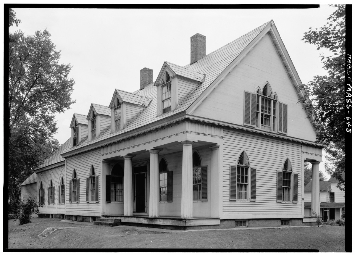 Archival illustrations, land records, and historic photos can help can help gather information about the original building.