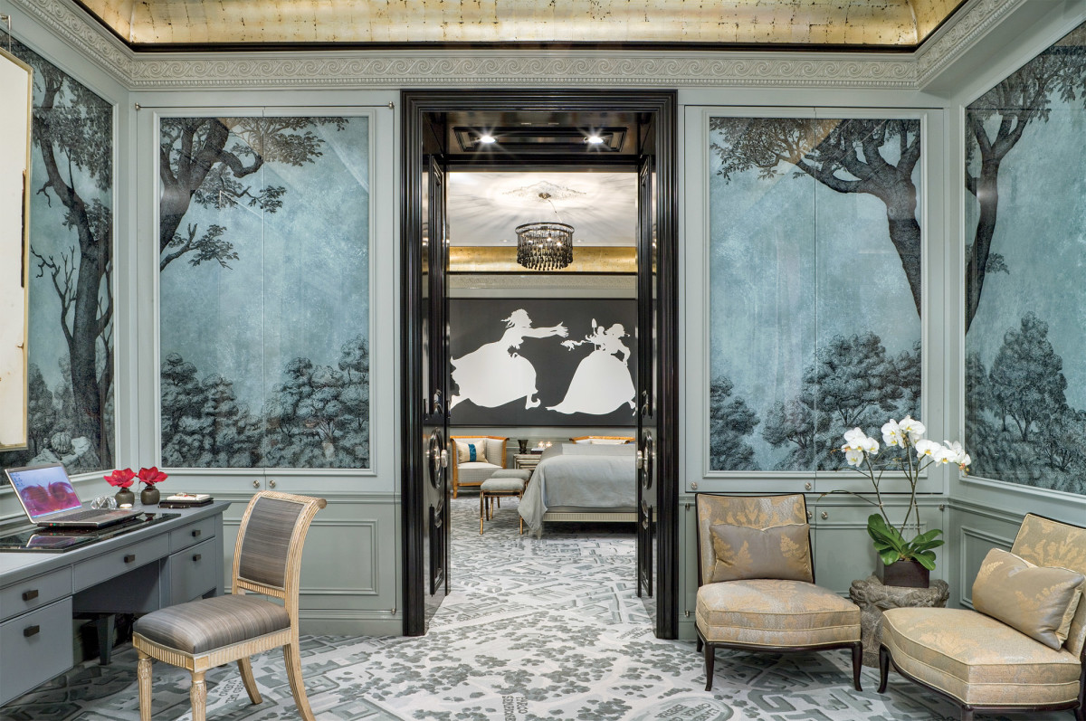 St. Regis office, Suzanne Lovell interior design